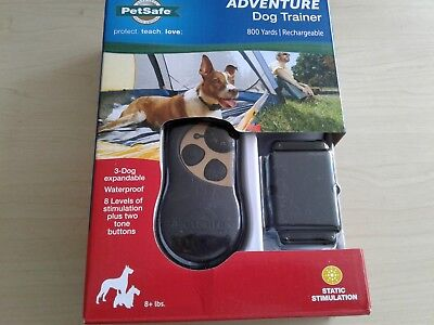 NEW PetSafe Adventure Dog Trainer 800 yards Rechargable