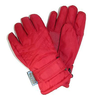 New CTM Toddlers Thinsulate Lined Water Resistant Winter Gloves