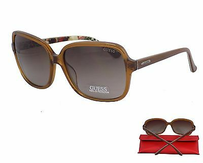 Occhiali Da Sole Donna Guess Gu7382 47F Colore Marrone Originali