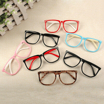 Boys Girls Baby Retro Square Fashion Glasses Frame Personality Kids Children