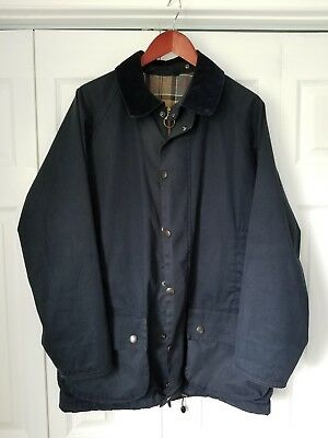 BARBOUR Classic Beaufort Jacket in Navy, Sz M