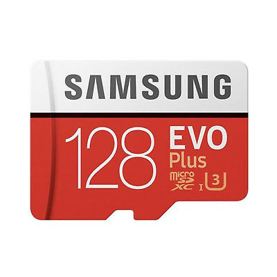 Samsung MB-MC128GA/EU  128GB EVO Plus Class 10 Micro SDXC with Adapter