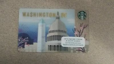 2016 Washington DC Starbucks Gift Card NEW AND IN STOCK + Bonus