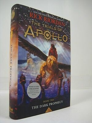 The Trials of Apollo 2- The Dark Prophecy by Rick Rhiordan (2017, Hardcover)