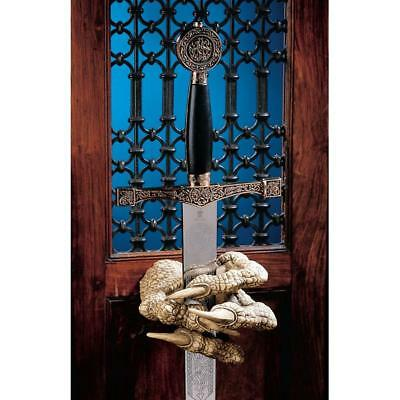 Design Toscano  Dragons Thorne MacGarvey Claw Sword Hanger Set