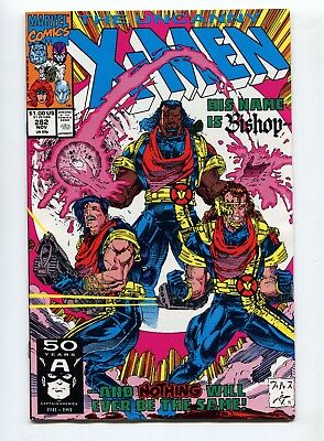 1991 Marvel The Uncanny X-Men #282 1St Appearance Bishop Near Mint+ 9.6 A
