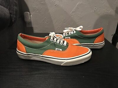 Vans Style 95 Vintage Made In The USA 90s Green/orange Doren Off The Wall #95