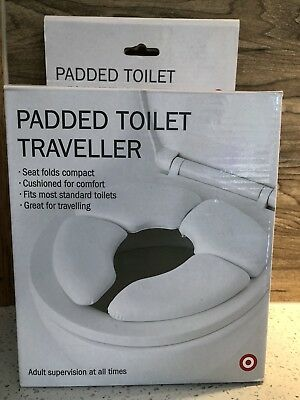 Unwanted gift - brand new padded portable toilet seat