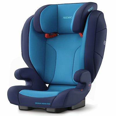 Recaro Monza Nova Evo Group 2/3 Child Kids Car Seat 4- 12 Years - Xenon Blue