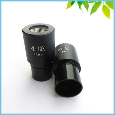 Biological Microscope Eyepiece Wide Field WF10X with 23.2mm Install Diameter