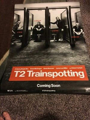 T2 Trainspotting 27x40 Double Sided Movie Poster Free Shipping With Tracking