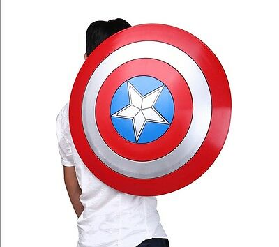 New Captain America Shield 1:1 ABS Shield 57cm Cosplay Halloween Cosplay Props
