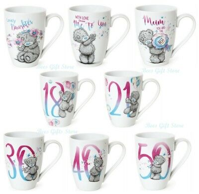 ME TO YOU Tatty Teddy Ceramic BIRTHDAY AGE Thank you MUG For MUM Daughter HER