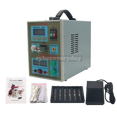 788H LED Dual Pulse Spot Welder 18650 Battery Charger 800A 0.1-0.2 mm 36V 60A