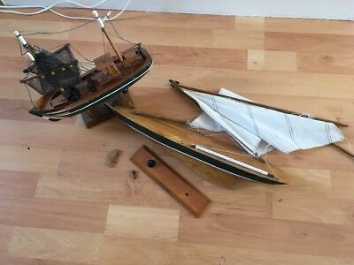 Vintage Wooden Nautical Boats