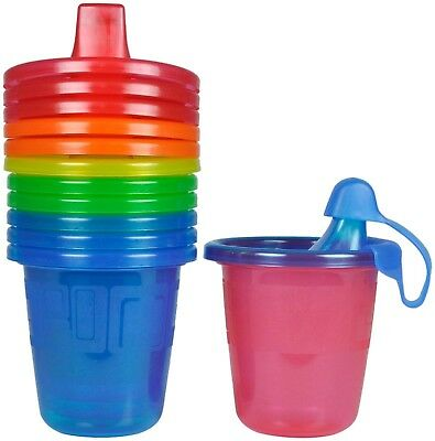 The First Years Take & Toss Spill-Proof Sippy Cups - Multicolor - 7 oz - ... New
