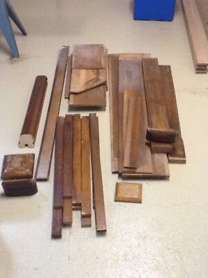 Hardwood Stair Components And Wood Paneling Pieces