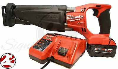 Milwaukee 2720-21 M18FUEL Brushless Sawzall Cordless Reciprocating Saw Kit  b