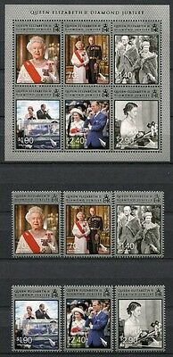 Neuseeland New Zealand 2012 Königin Elisabeth QE II Royalty 2902-07 Block 286 A
