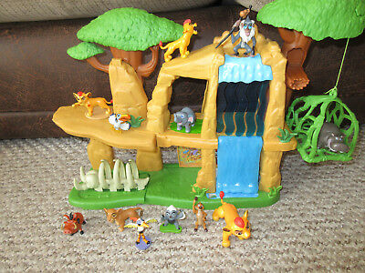 The Lion Guard Playset With joblot Figures Great Condition Defend The Pridelands