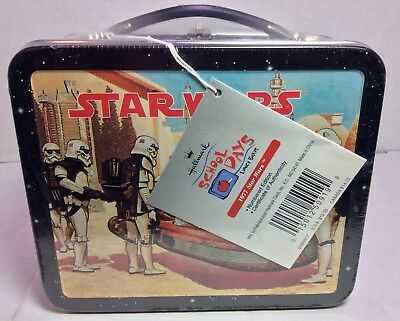 1999 Hallmark School Days Mini Lunch Box Star Wars 1977 Numbered Factory Sealed