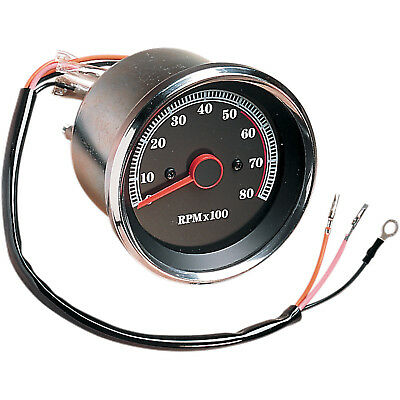 Drag Specialties Tachometer for Harley-Davidson DS-243939 Natural Stainless