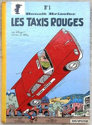 Benoit Brisefer 1 Les Taxis Rouges EO 1962 TBE Peyo Will
