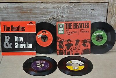 3 Singles  + 1 EP BEATLES & Tony Sheridan / Day Tripper/THE IMAGE + THE REBBELS