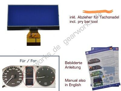 Gearworks Affichage LCD F.Mercedes Classe A / W169 Compte-Tours /