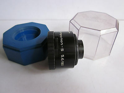 Schneider Kreuznach Componon-S 80mm f5.6 Enlarger lens in Keeper.