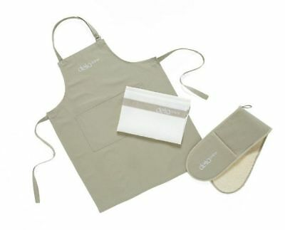 Delia Smith Delia Online Apron, Oven Gloves, Tea Towel Made in the UK CLEARANCE