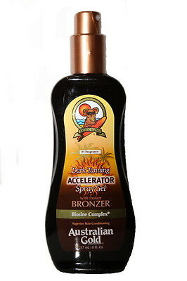 Australian Gold  - Dark Tanning Accelerator Spray Gel mit Bronzer  237 ml