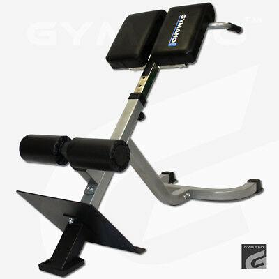 GYMANO® PRO BACK EXTENSION™ - 45 DEGREE HYPER EXTENSION BENCH for BACK & ABS