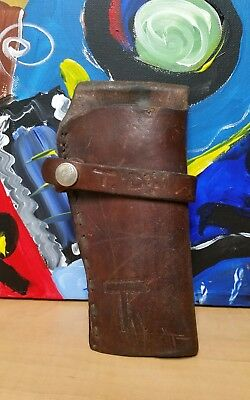 Vintage Hunter 1100 B 49 Leather Holster Right-Hand VTG Pistol Revolver Firearm
