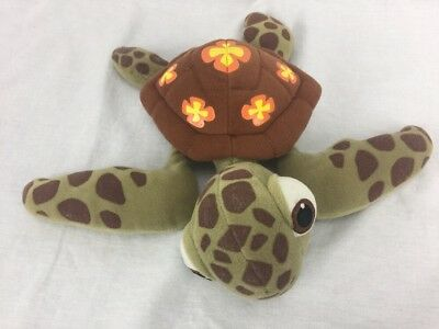 "Disneyland Walt Disney World Pixar Finding Nemo 11"" Plush Squirt Sea Turtle"