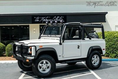 1994 Land Rover Defender 90 Soft Top Convertible ONLY 15K ORIGINAL MILES! 1 OWNER SINCE NEW! SHOWROOM CONDITION! CLEAN CARFAX