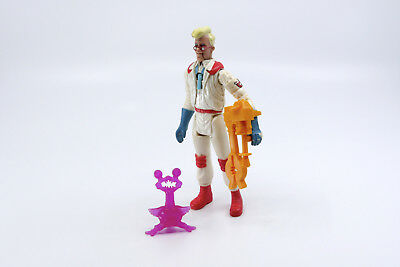FRIGHT FEATURE EGON SPENGLER komplett complete Real Ghostbusters Kenner