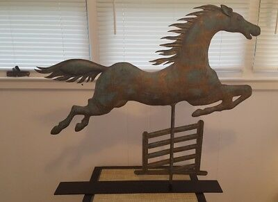 Rare, One Of A Kind Copper Weathervane Made In The Late 20Th C
