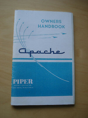 Piper Apache Owner's Handbook PA23 POH