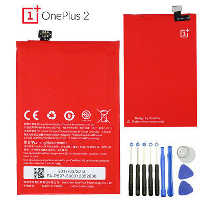 OEM Replacement Internal Battery BLP597 For OnePlus Two OnePlus2 3300mAh 3.8V