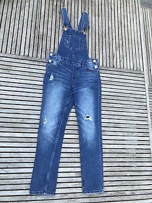 Girls Dungarees, Age 8-9 Years