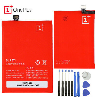 Original 3100mAh BLP571 Replacement Battery For ONEPLUS ONE 1+ A0001+ New