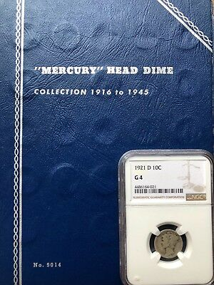 1916-1945 Mercury Dime Collection - All Keys/Semi-Keys (Except 1916-d) 76 Total!