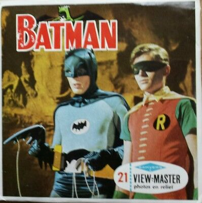 3 Disques View Master Sawyer's B 492 Batman
