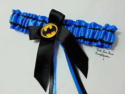 Batman Bridal Wedding garter. toss. bride.superhero