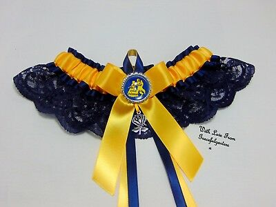 Disney Beauty and the beast A tale as old as time Lace Bridal wedding garter.