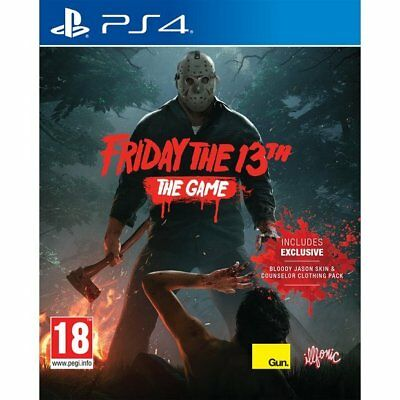Sony PlayStation 4 (PS4) Game - Friday the 13th : The Game