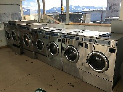 Dexter washers & dryers 4-T300's, 1-T400, 2-T600's, 7- 30lb. stack dryers.