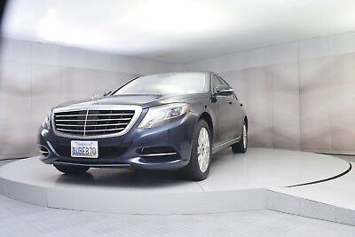 2014 Mercedes-Benz S-Class s550 in Dark Blue with 29,137 miles 2014 MERCEDES BENZ S550 IN DARK BLUE WITH TAN INTERIOR LOW MILES