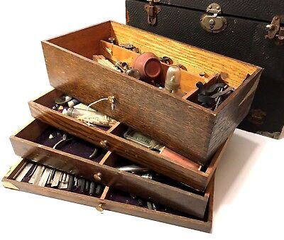 Early 20th Century Dental Travel Tool Kit, Hundreds of Items and Priced to Sell!